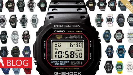 Кратка история пълна с първенства. Така мина времето с часовниците Casio G-Shock