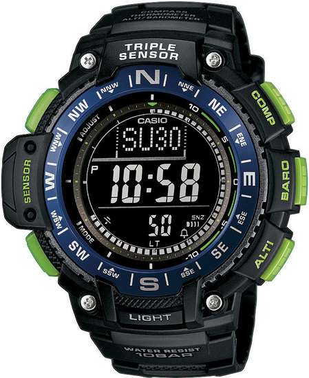 CASIO SPORT GEAR SGW 1000-2B