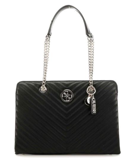 GUESS BLAKELY MAXI SHOULDER BAG HWVG7663100-BLA