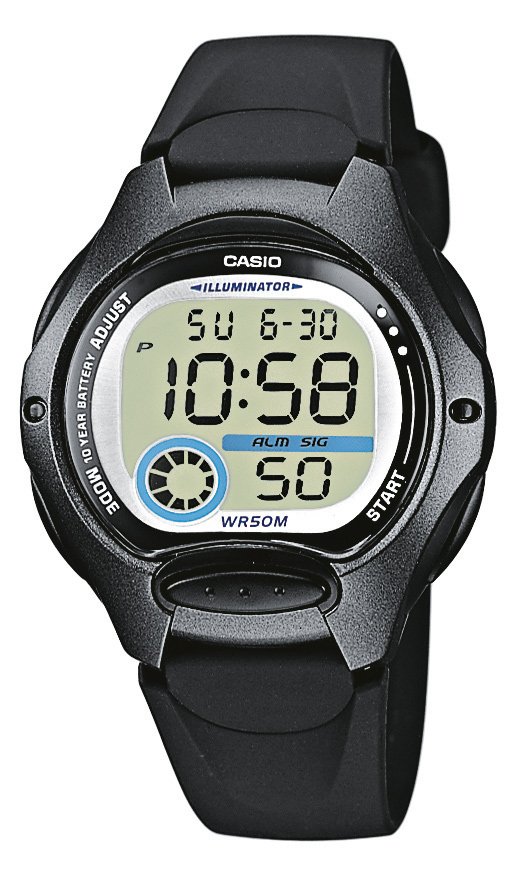 CASIO COLLECTION LW 200-1B